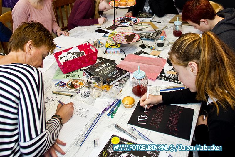 Workshops 4 Kids organiseert workshop handlettering in Sliedrecht.