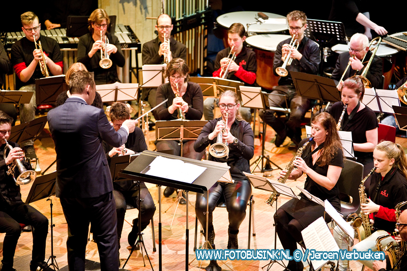 Traditionele nieuwjaarsconcert van Soli Deo Gloria in Alblasserdam.