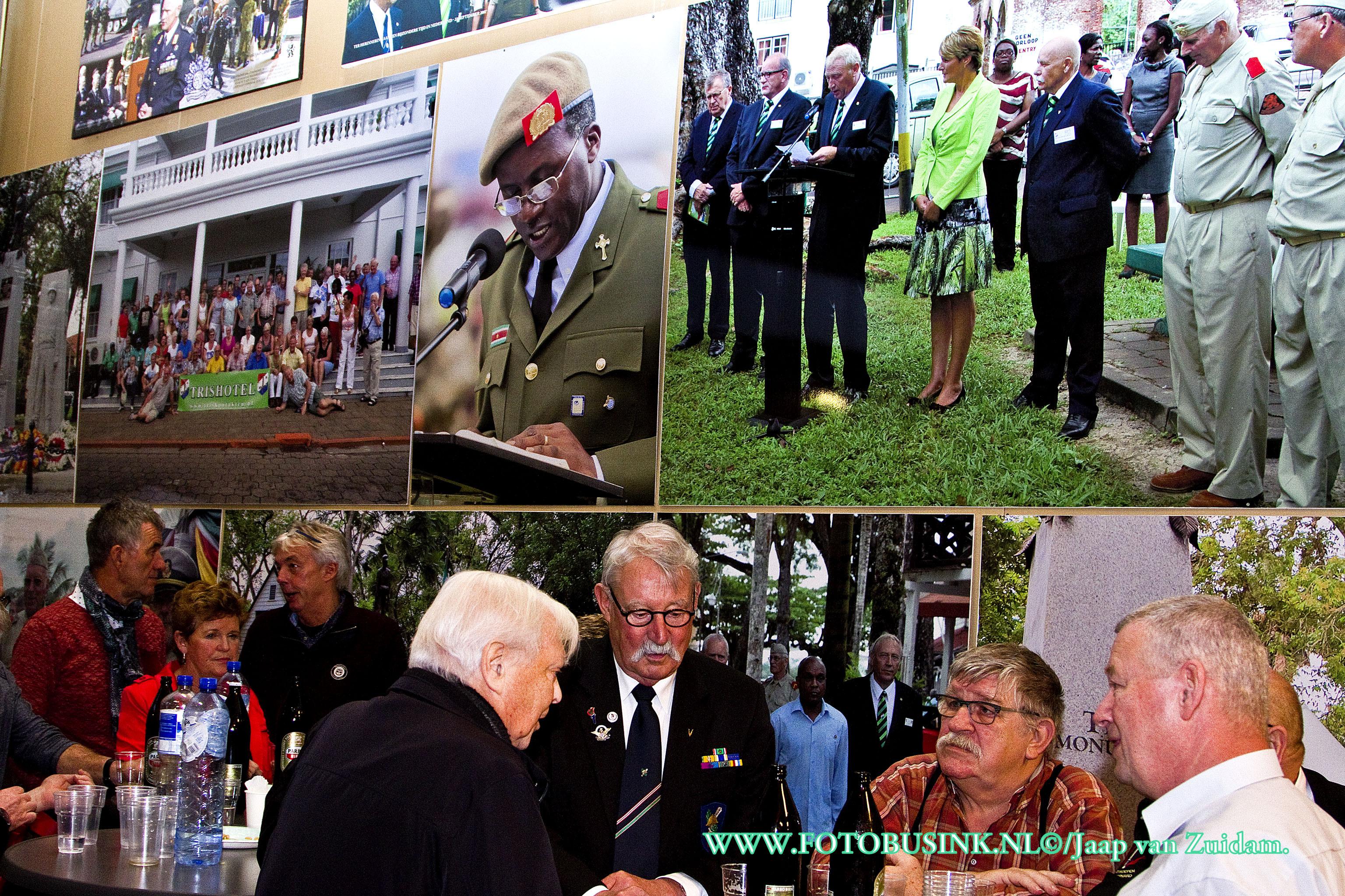 Landelijke nieuwjaarsreceptie oudgediende Troepenmacht van Suriname.