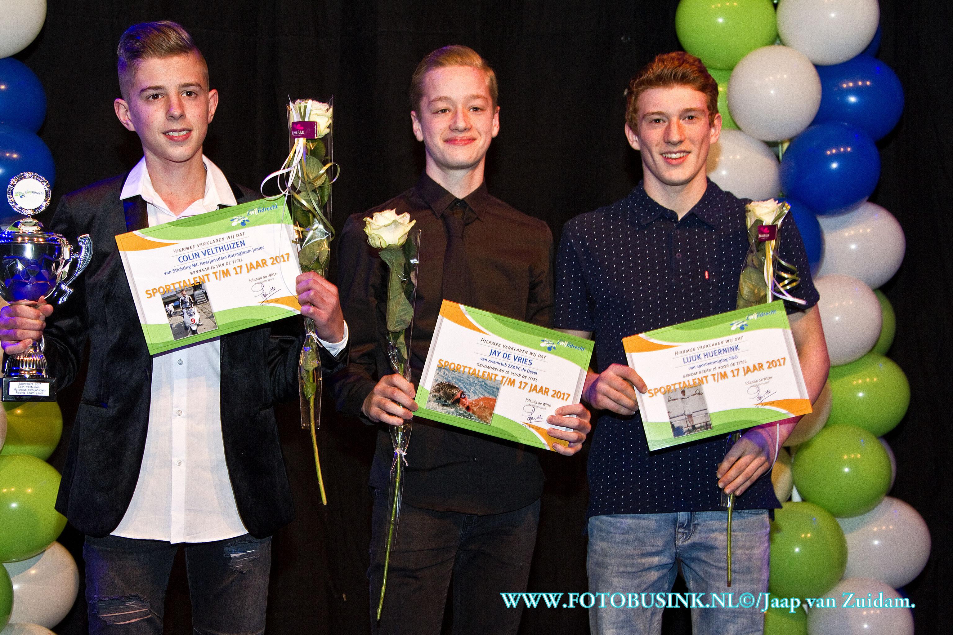 Huldiging sportkampioenen Zwijndrecht.