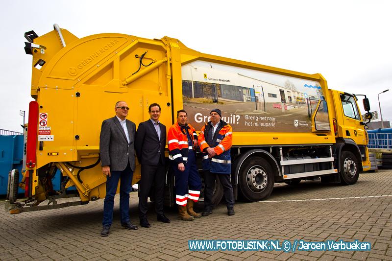 Nieuwe vuilniswagen voor de gemeente Sliedrecht.