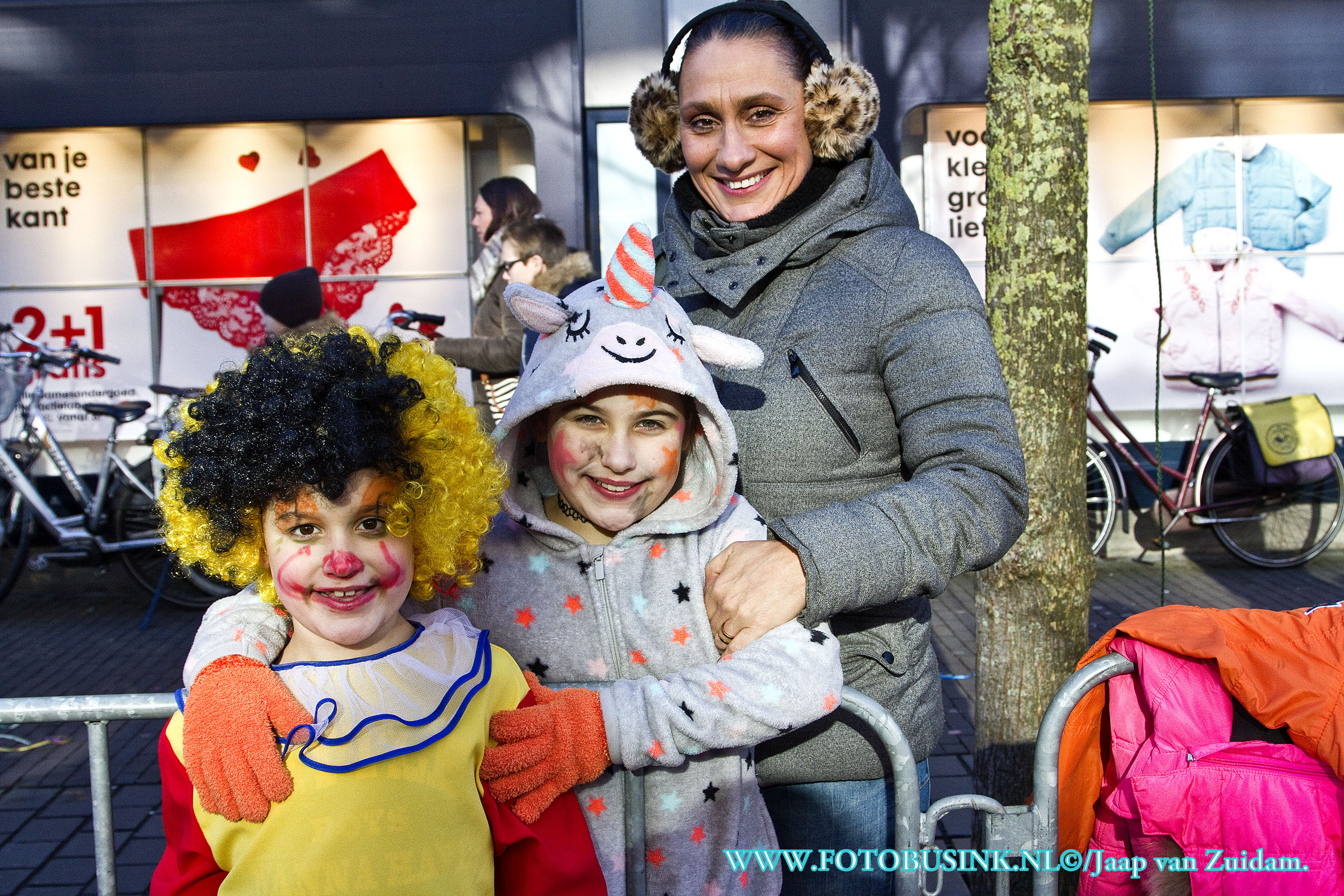 Carnavalsoptocht 2018 in Dordrecht.