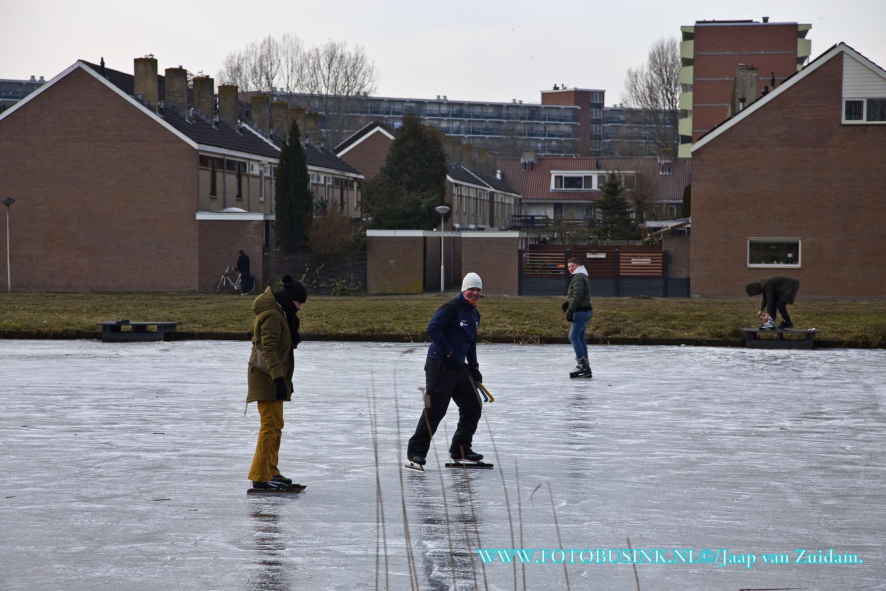 Schaatsen in Alblasserdam.