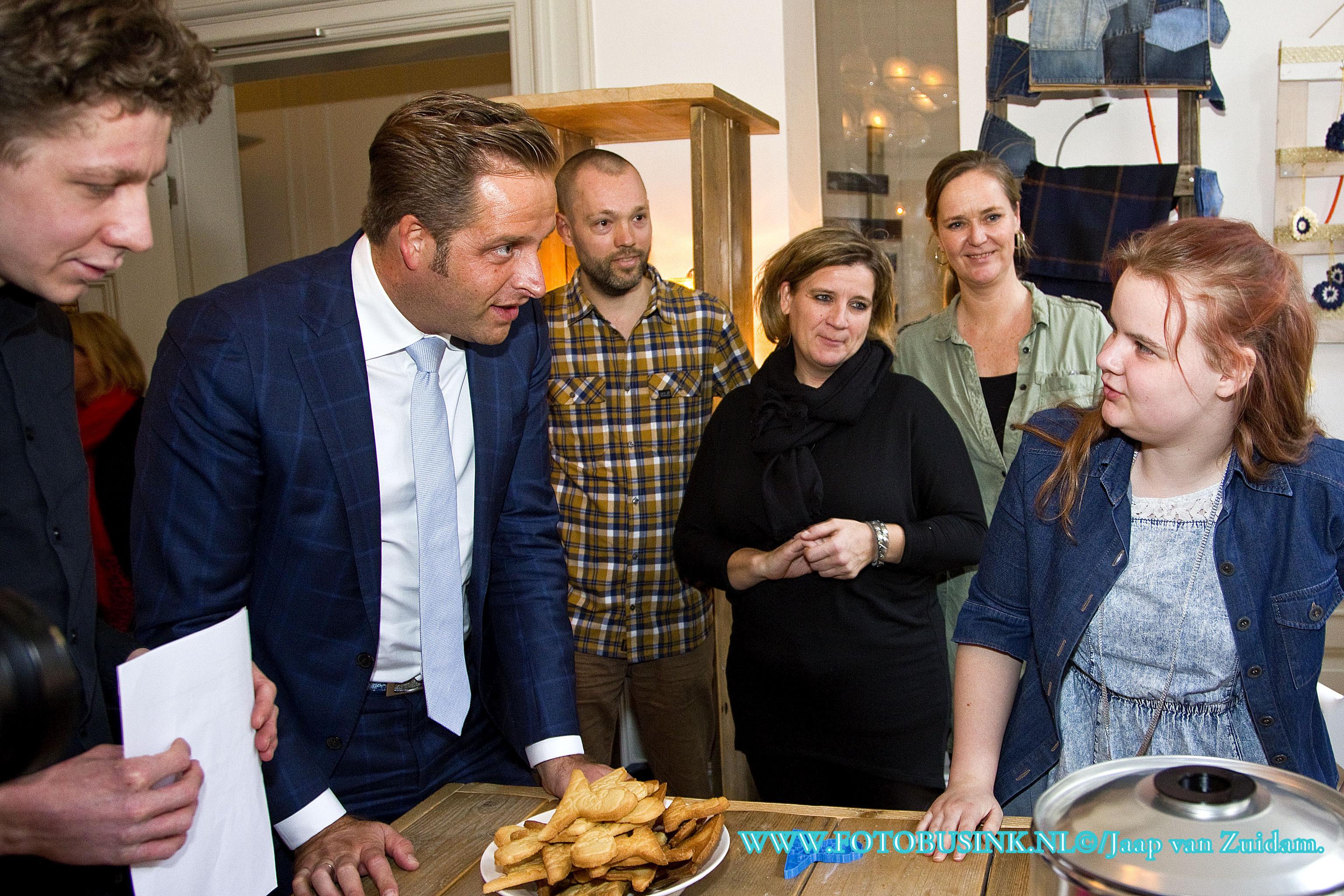 Minister De Jonge van Volksgezondheid Welzijn en Sport bezoekt Philadelphia.