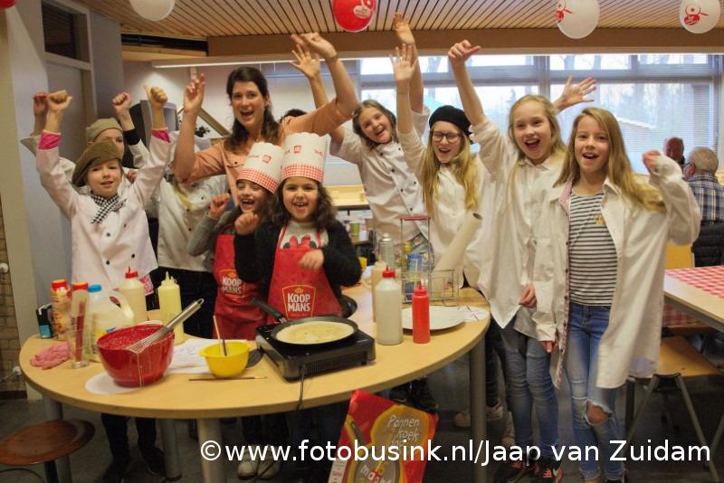 Nationale Pannenkoekendag in Hardinxveld-Giessendam