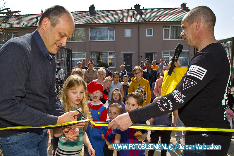 Feestelijke heropening speeltuin Wielwijk in Dordrecht.