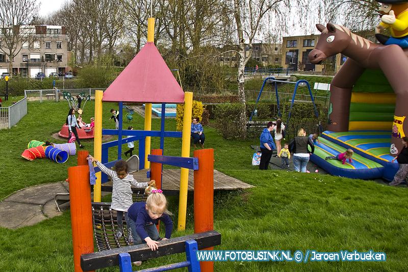 Opening zomerseizoen speeltuin Stadspolders in Dordrecht.