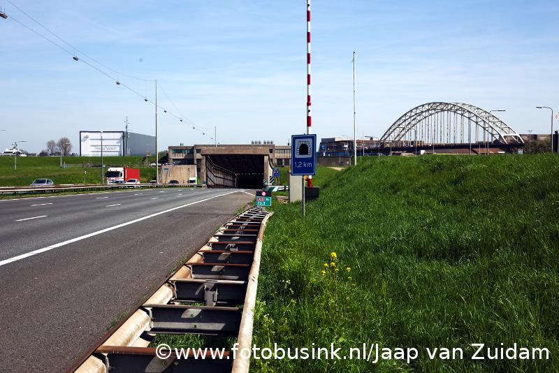 Tunnel onder de Noord uren dicht