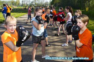 koningsspelen 2018 op basisschool De Oranje-Nassau in Sliedrecht.