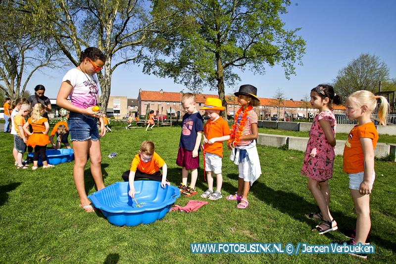 koningsspelen 2018 op basisschool Het Palet in Alblasserdam.