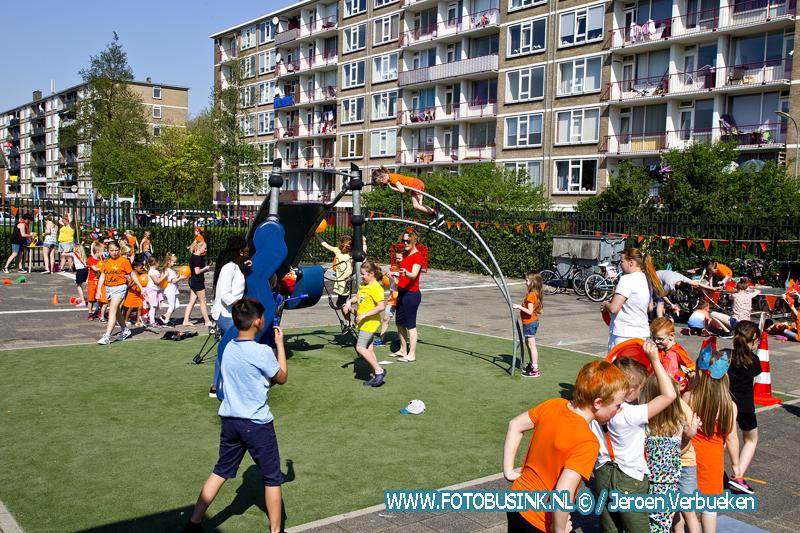 koningsspelen 2018 op basisschool De Regenboog in Dordrecht.