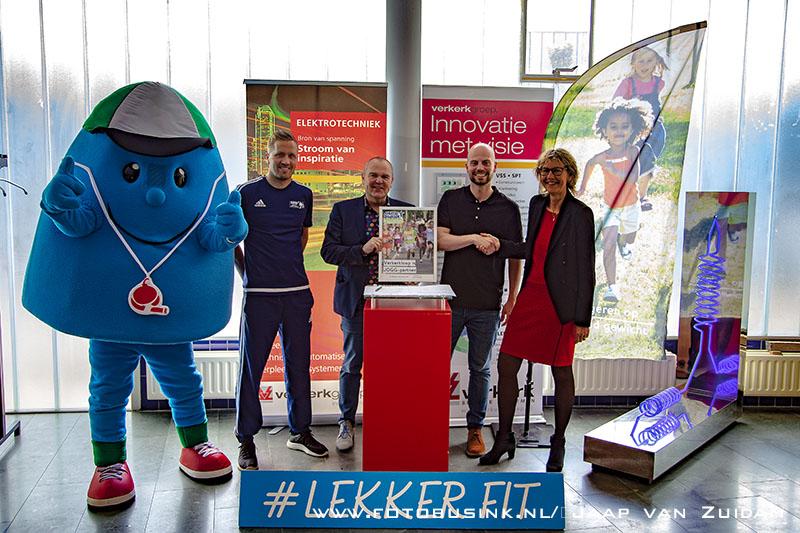 Verkerkloop wordt tweede JOGG-partner in Zwijndrecht