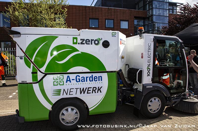 Introductie eerste elektrische straatveegwagen in Nederland