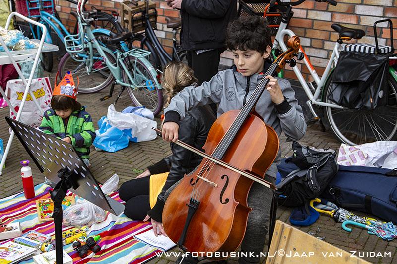 Kindervrijmarkt in Dordrecht