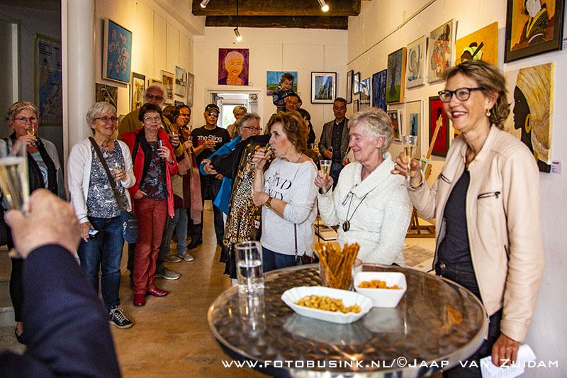Opening expositie '35 jaar Octo-Art'