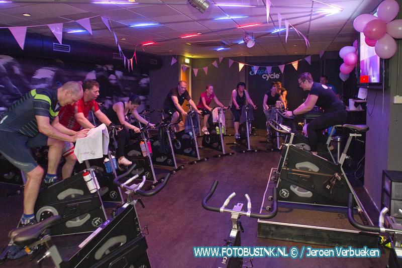 Spinning marathon bij Sportcity in Dordrecht