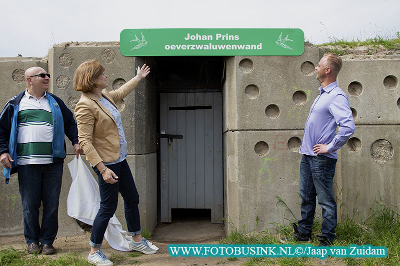 Opening zwaluwenwand annex vleermuizenverblijf Hooge Nesse