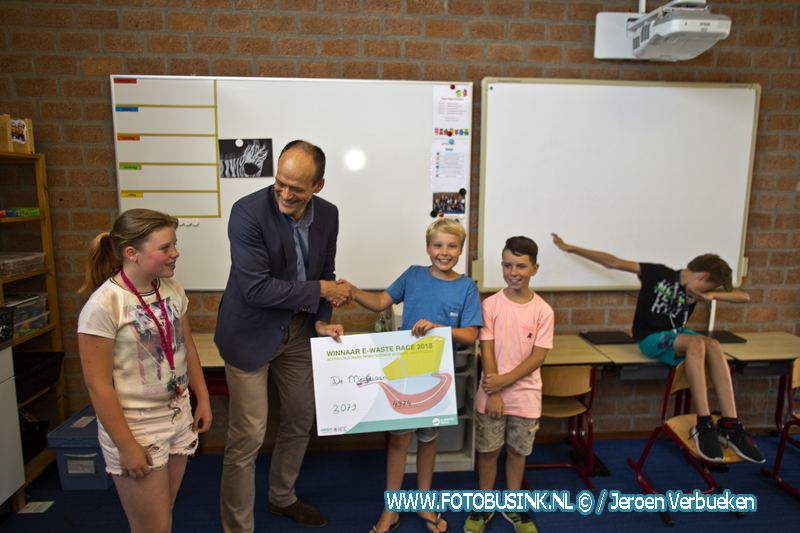 100 ste E-waste race gewonnen door Dordtse school De Meridiaan