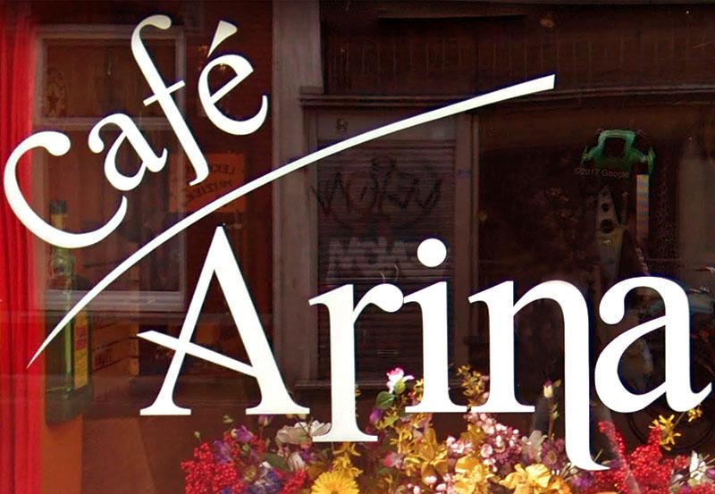 Spoedsluiting Café Arina door geweldsincident