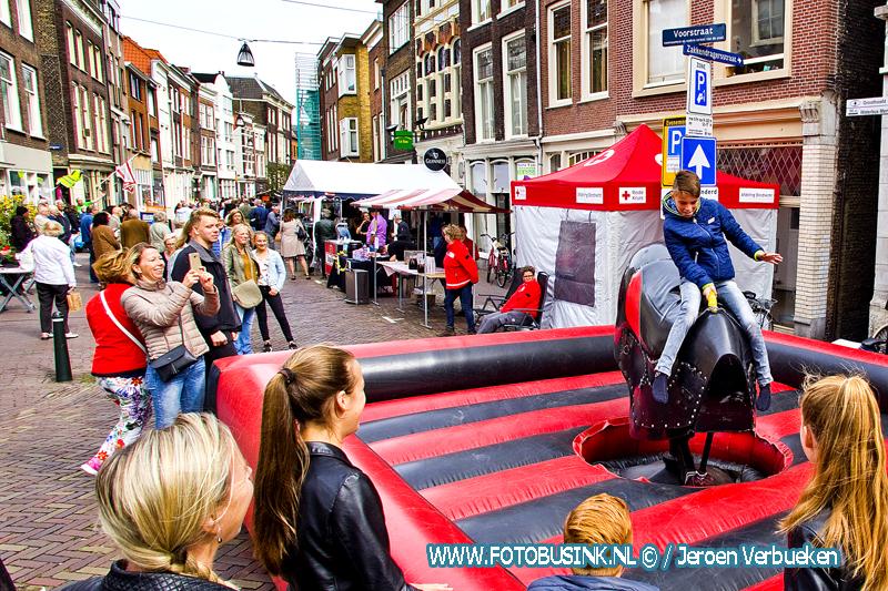 Voorstraat-Noord Festival in binnenstad van Dordrecht.