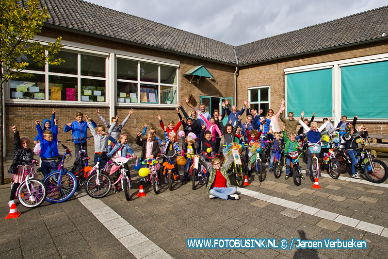Verkeersveiligheidslabel SCHOOL op SEEF voor OBS Giessen-Oudekerk.