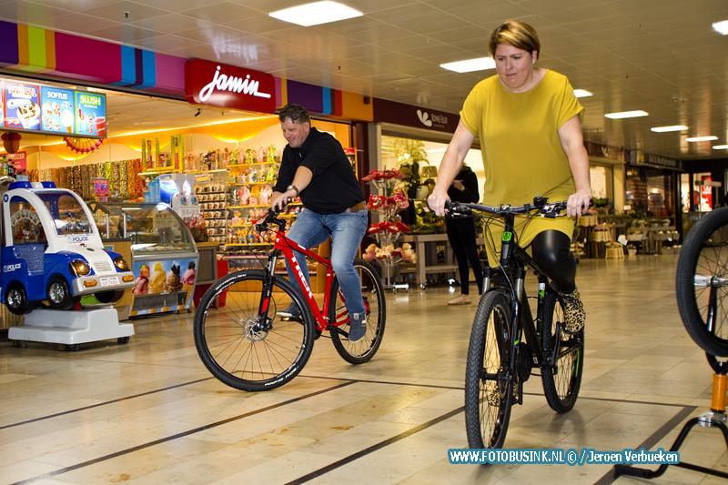 Langzaam fietsen voor 250 euro shop tegoed.