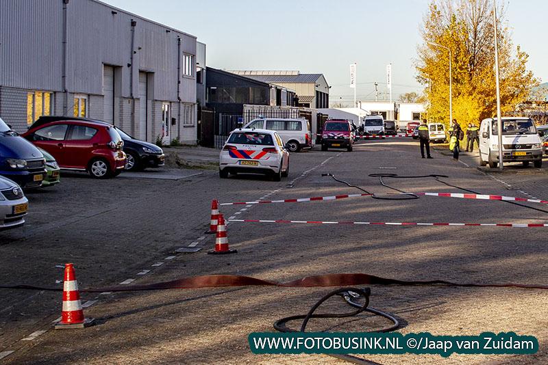 Drugslab opgerold in Sliedrecht - twee arrestaties