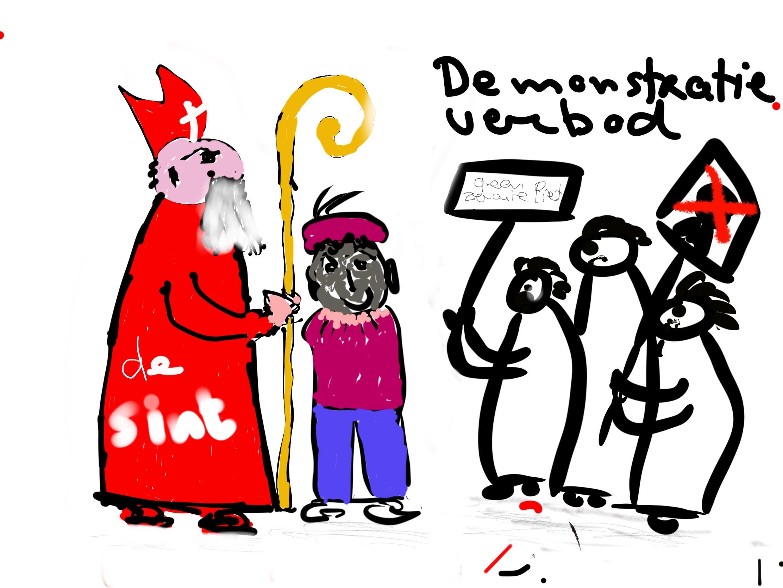Burgemeester verbiedt demonstraties bij Sinterklaasintocht