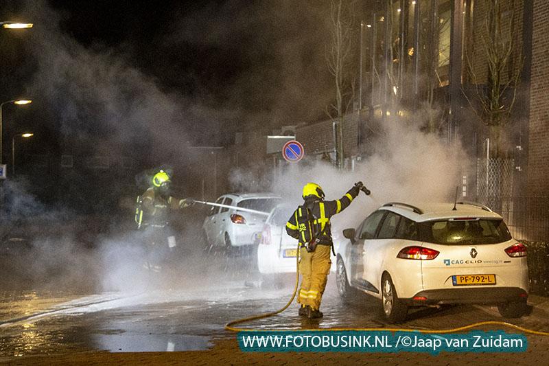 Autobrand in Zwijndrecht