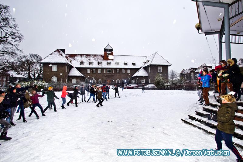 Sneeuwpret in Sliedrecht