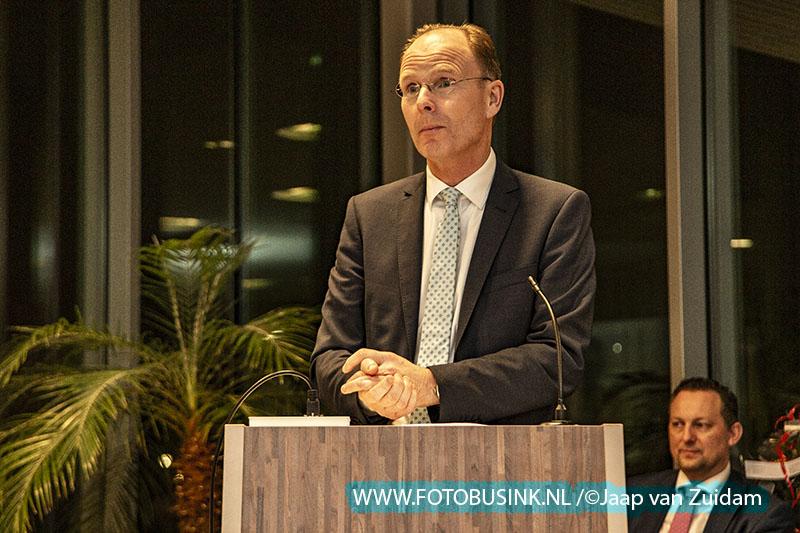 Burgemeester Dominic Schrijer neemt afscheid van Zwijndrecht