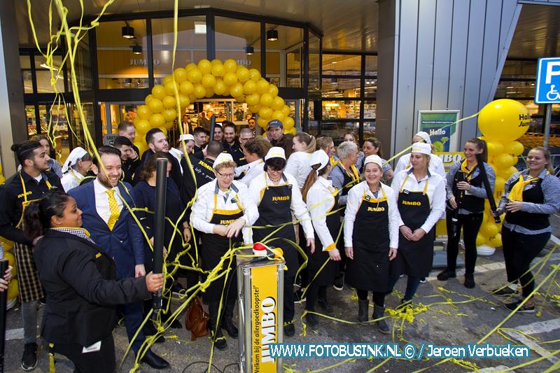 Jumbo aan de Merwedestraat in Dordrecht feestelijk heropend.