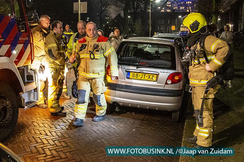 Gaslekkage Jan Campertstraat Zwijndrecht
