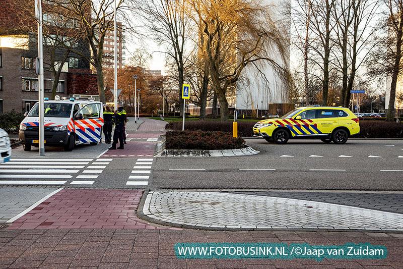 Ongeval op Laan van Walburg in Zwijndrecht