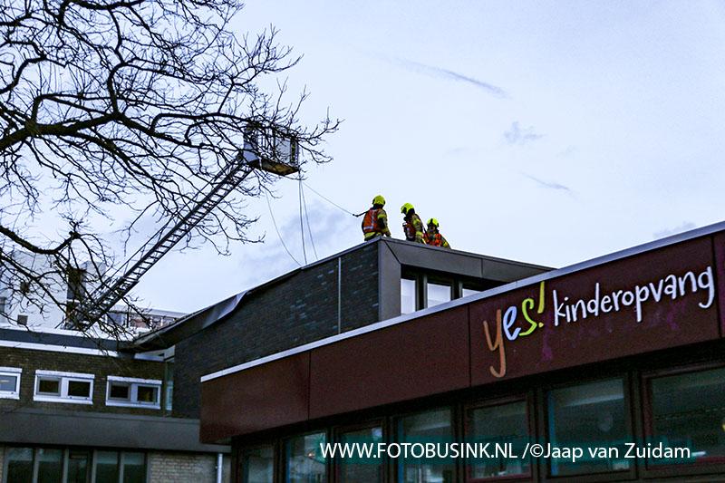 Stormschade basisschool Tandem in Zwijndrecht
