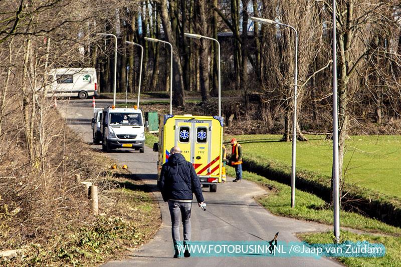 Medewerker groenvoorziening raakt gewond in het Noordpark in Zwijndrecht