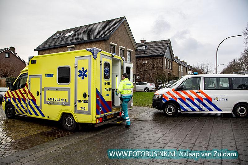 Man valt van fiets op Laan van Nederhoven