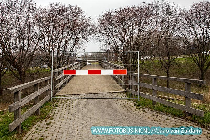 Fietsersbrug Zwijndrecht per direct afgesloten