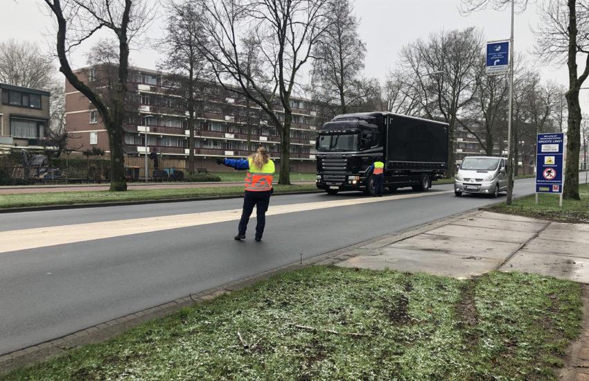 Overtreden inrijverbod Blauwe brug in Zwijndrecht