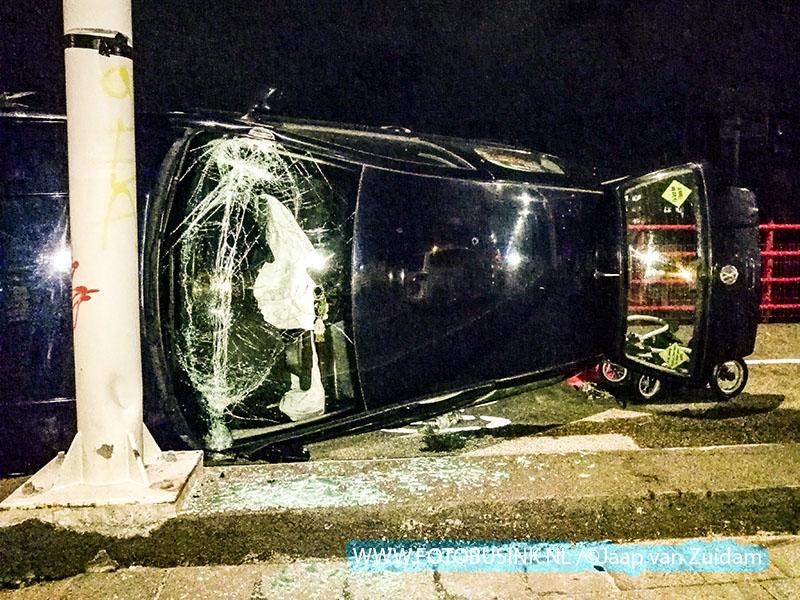 Ongeval op Zwijndrechtse brug