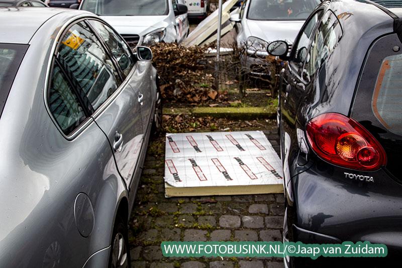 Stormschade PJ Oudplein in Zwijndrecht