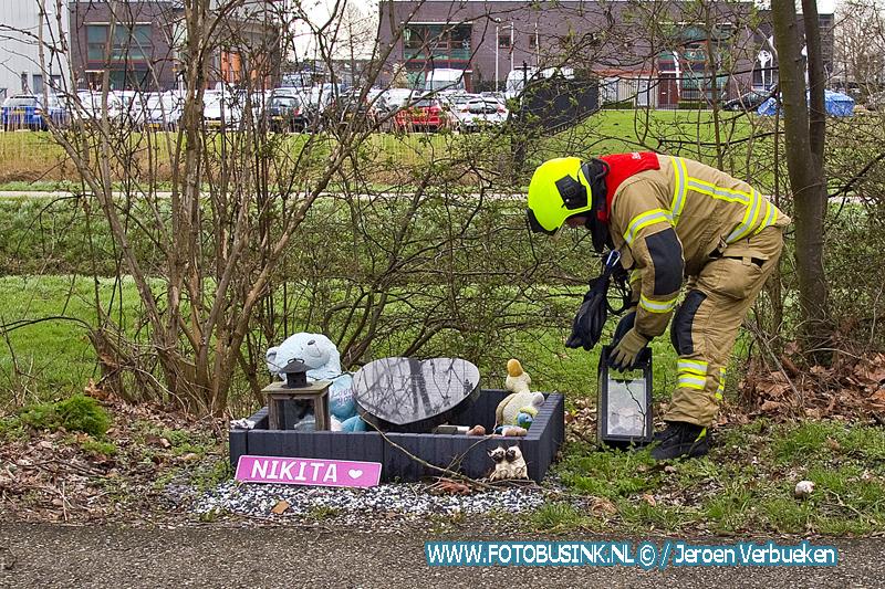 Respectvolle actie van brandweerman uit Zwijndrecht