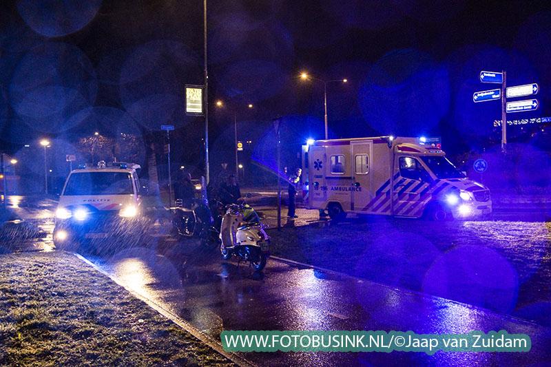 Ongeval met letsel op Brugweg Zwijndrecht