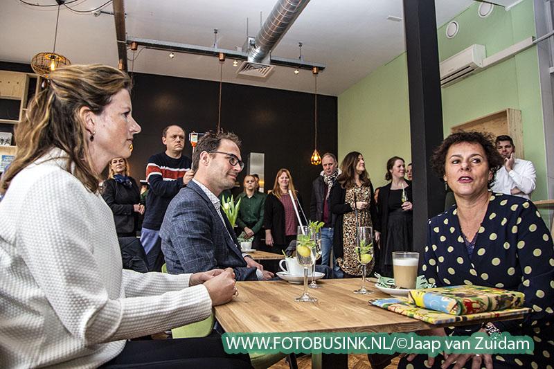 Opening café Americain in Stadsbibliotheek