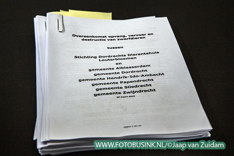 Ondertekening samenwerkingsovereenkomst Louterbloemen
