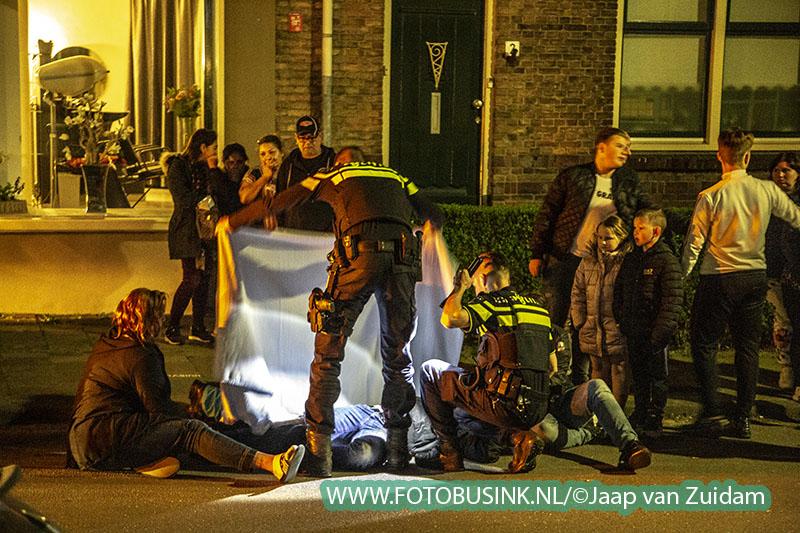 Ongeval met letsel aan de Breitnerstraat in Dordrecht