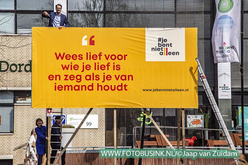 Start outdoor-campagne #jebentnietalleen