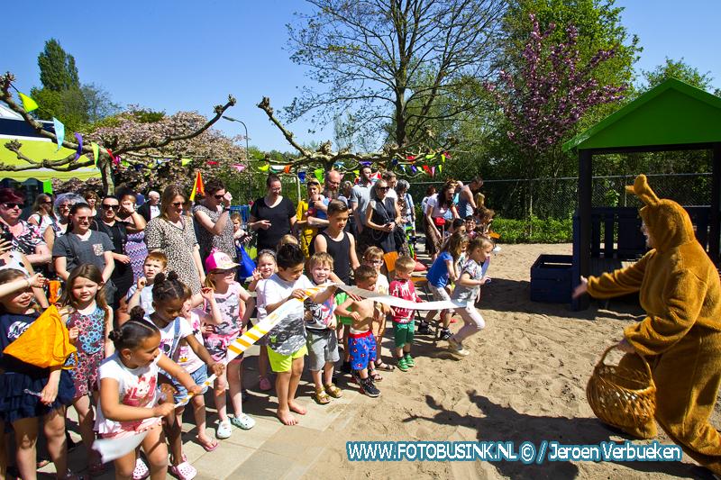 Paaseieren zoeken bij speeltuinvereniging Oosterkwartier in Dordrecht.