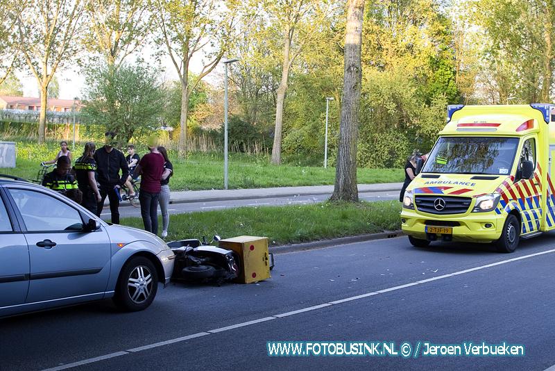 Ongeval letsel aan de Groene Zoom in Dordrecht