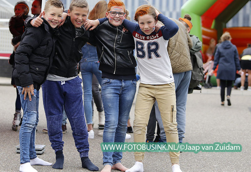 Koningsdag in Alblasserdam